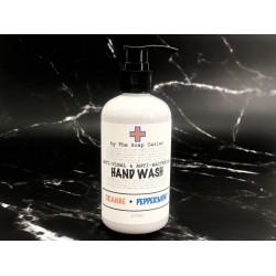 ANTI-VIRAL & ANTI-BACTERIAL HAND WASH (ORANGE & PEPPERMINT)