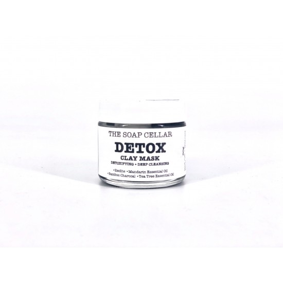 ALL NATURAL DETOX CLAY MASK