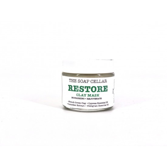 ALL NATURAL RESTORE CLAY MASK