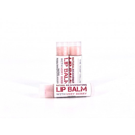 ALL NATURAL VERY BERRY LIP BALM