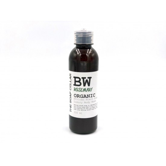 ROSEMARY BODY WASH WITH ORGANIC AFRICAN BLACK SOAP