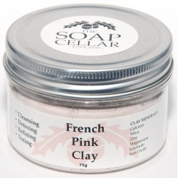 FRENCH PINK FACIAL CLAY POWDER
