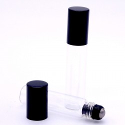 GLASS METAL ROLLER BOTTLE